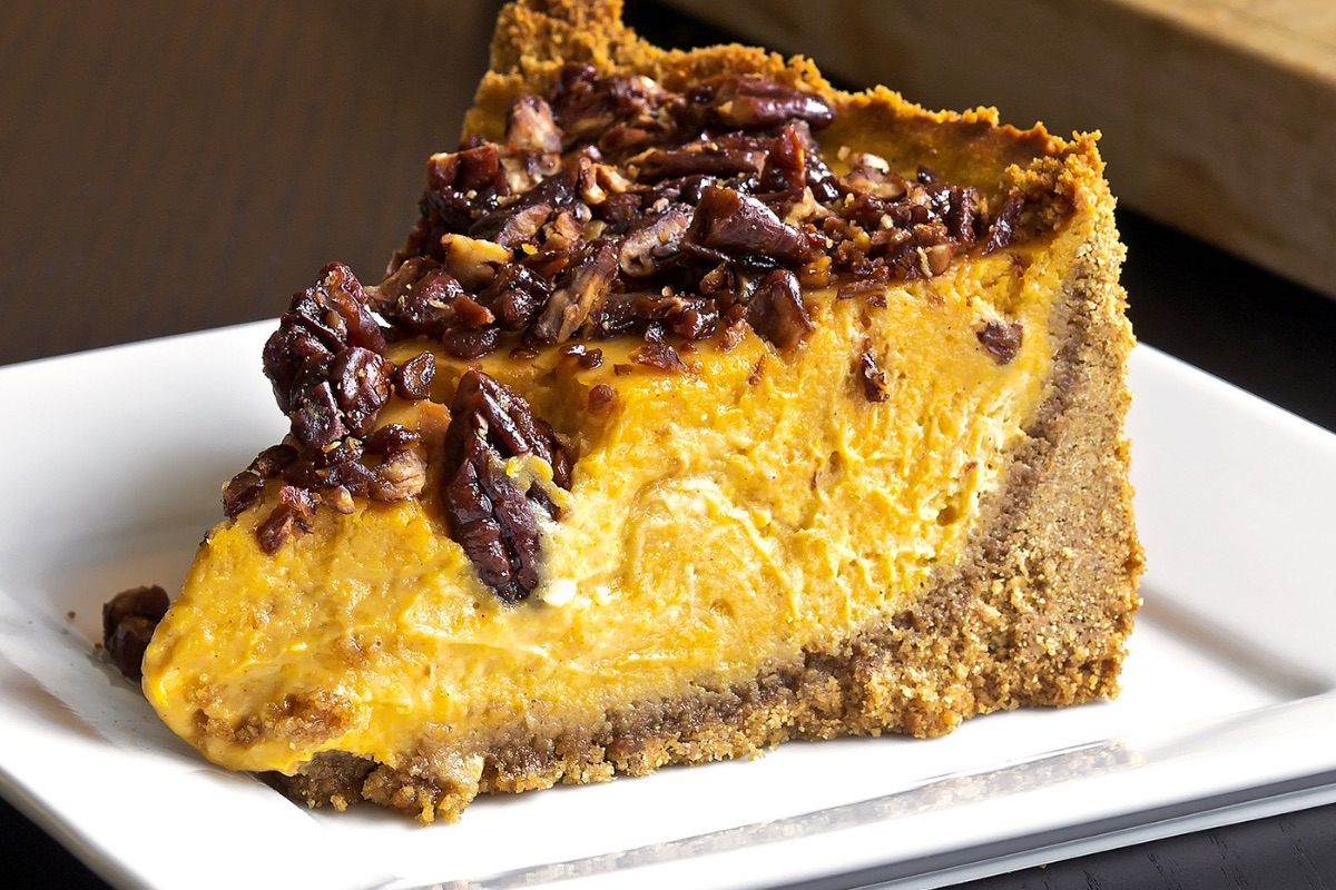 "Image for ""Nancy Crossley's pumpkin cheesecake recipe"", Finding Your Bliss"