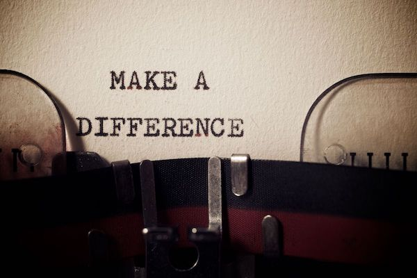 Finding my bliss by making a difference